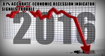 '81% Accurate' Economic Recession Indicator Signals Trouble